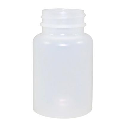 4oz Natural Cylindrical Jug (HDPE-13g) 38/400