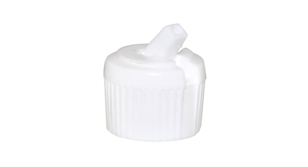 White Flip Top Cap 20/410
