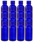 16 Pack 1oz Cobalt Boston Round (Glass) Bottles 20/400<br /><br /> <table cellspacing=