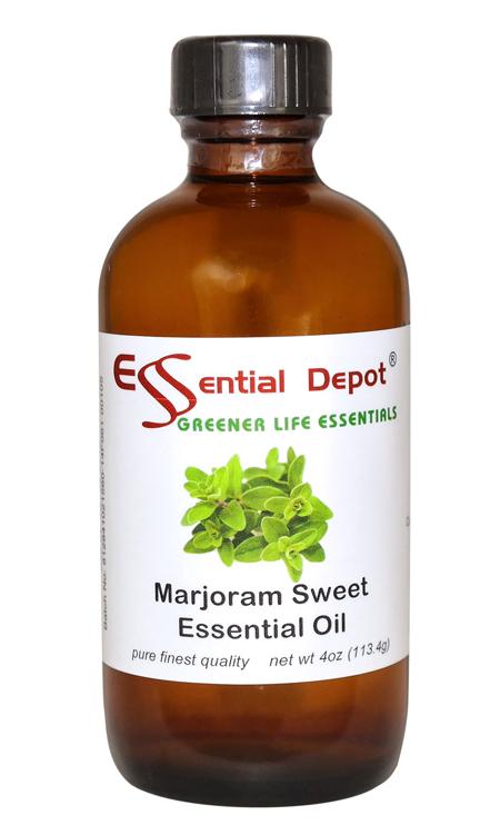 Marjoram Essential Oil - 4 oz.
