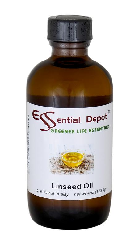 Linseed Oil - 4 oz.