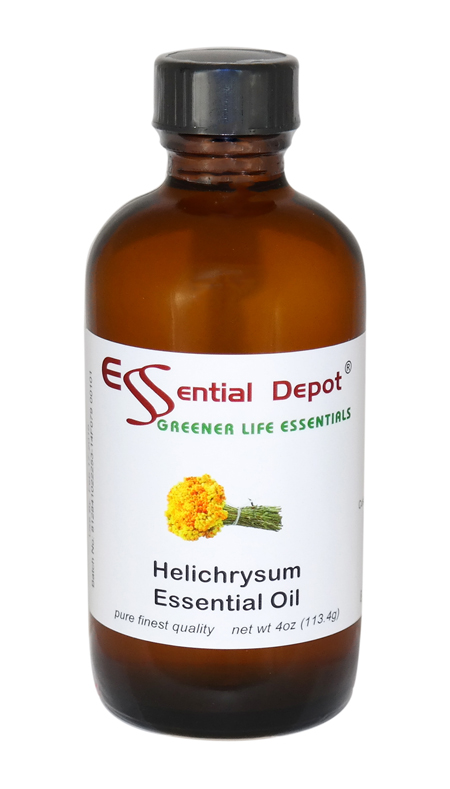 Helichrysum (Immortelle) Essential Oil - 4 oz.