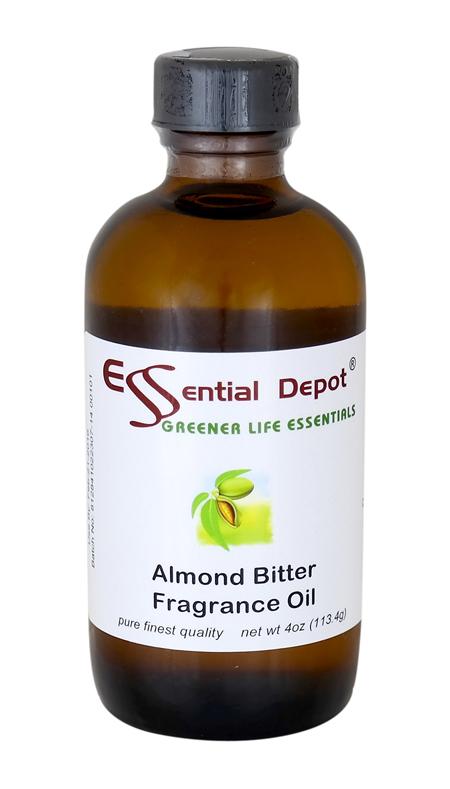 Almond Bitter Fragrance Oil - 4 oz.