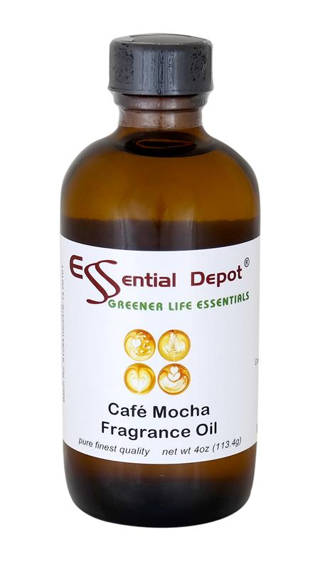 Cafe Mocha Fragrance Oil - 4 oz.