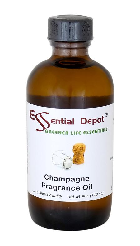 Champagne Fragrance Oil - 4 oz.