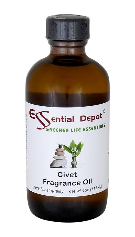 Civet Fragrance Oil - 4 oz.