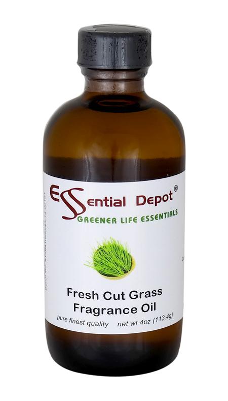 Fresh Cut Grass Fragrance Oil - 4 oz.