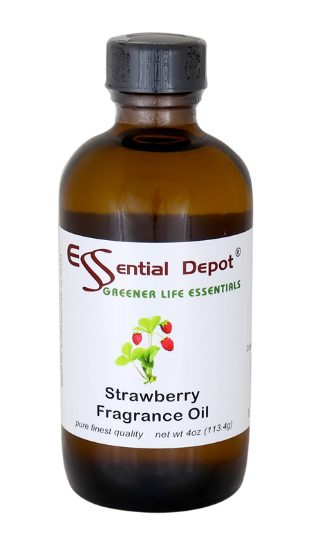 Strawberry Fragrance Oil - 4 oz.