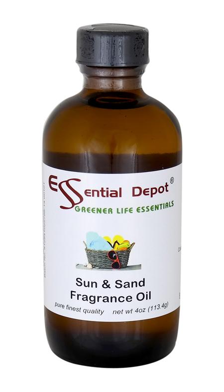 Sun & Sand Fragrance Oil - 4 oz.