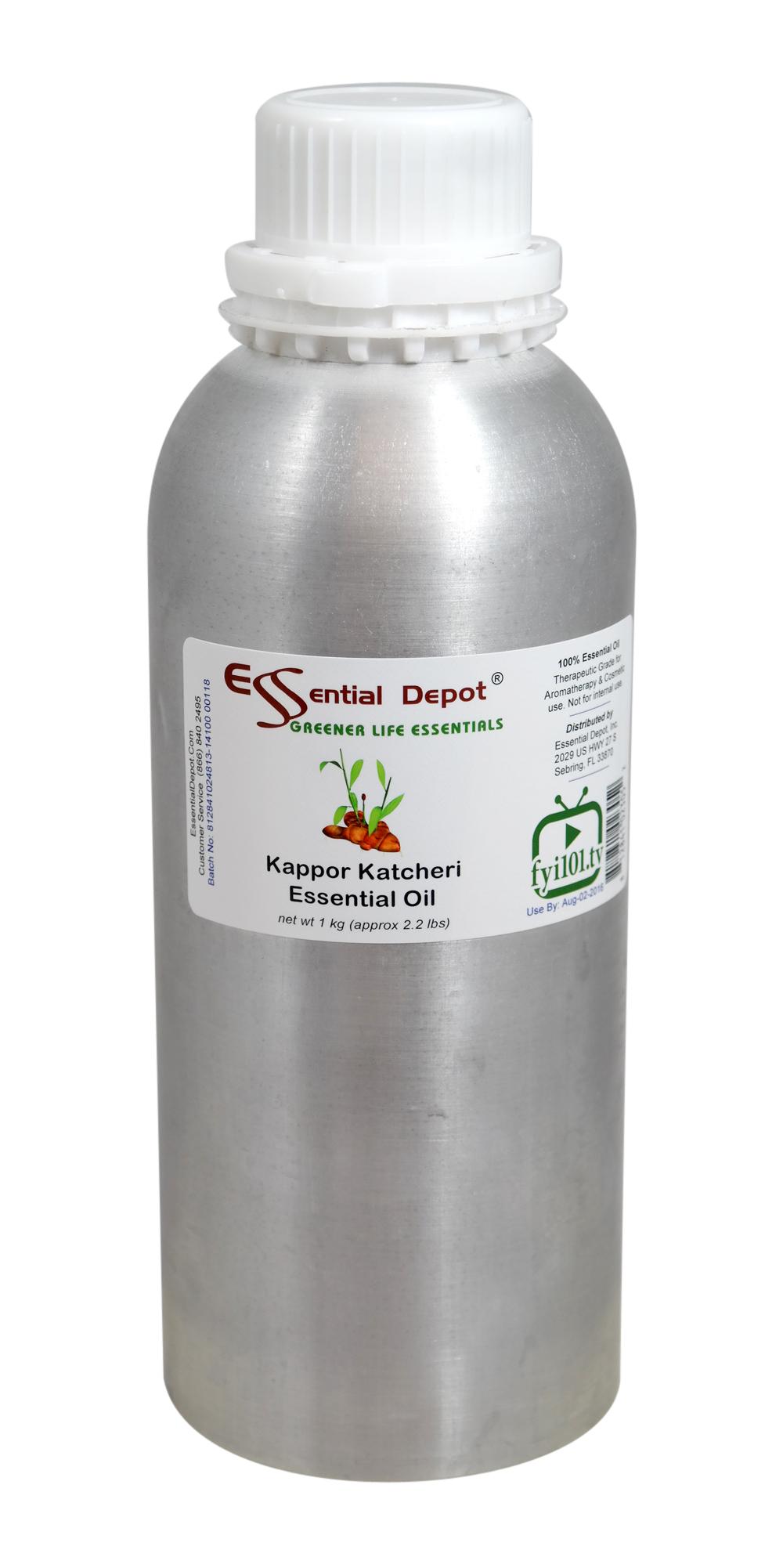 Kappor katcheri Essential Oil - 1 kg. - Approx 2.2 lbs. - FREE US SHIPPING