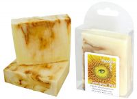 <p><strong>Lemongrass Elixir - Handcrafted Soap from Hypnotic Soaps.</strong><br />A relaxing and hypnotic blend of lemongrass and lavender essential oils combine in this all-natural bar of olive, coconut and castor oils. Approx. 4.4 ounces.</p><p><strong>Lemongrass Elixir </strong>is a handcrafted soap distributed by Essential Depot, Inc., through a pilot program to provide emerging soapmakers with training & marketing support. Featured soapmakers are profiled on <a