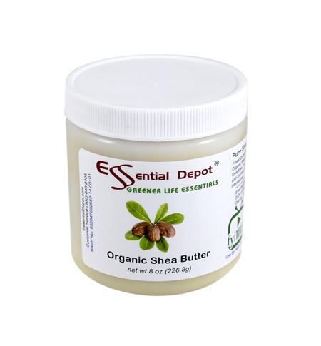 Organic Shea Butter - Unrefined - 8 oz