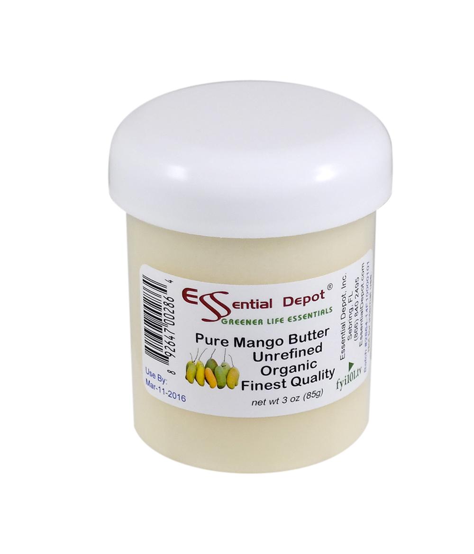 Organic Mango Butter - 3 oz.
