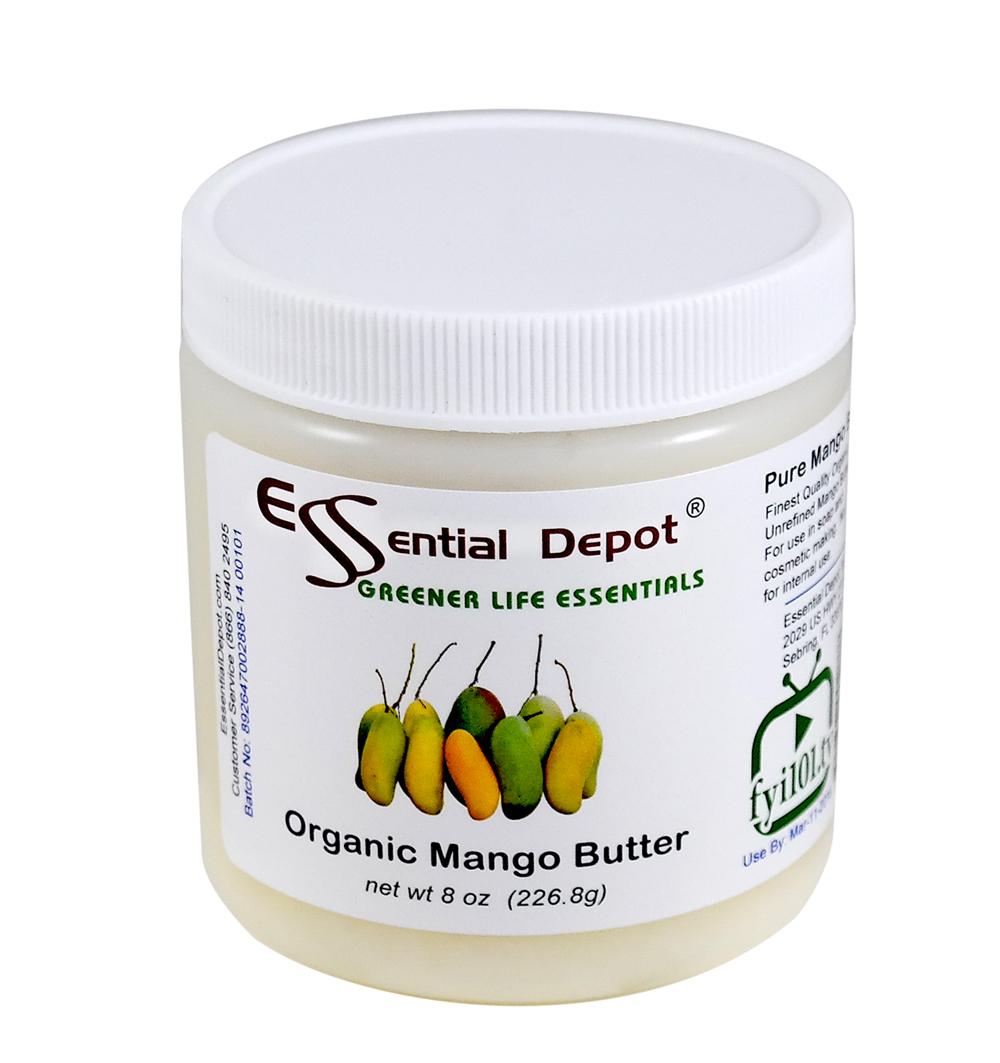 Organic Mango Butter - 8 oz