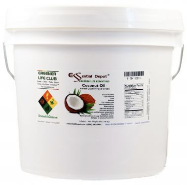 Coconut Oil - Finest Quality - in 1 Gallon HDPE Pail - SALE ITEM
